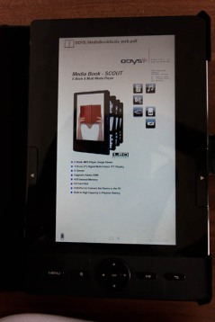 PDF Display on the Odys Media Book Scala